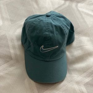 NWOT Nike Logo Teal Women's Baseball Cap